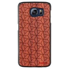 Galaxy S6 Wood Slim Case Padauk Triopus