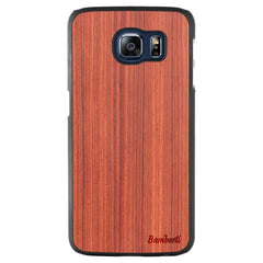Galaxy S6 Wood Slim Case Padauk Regular