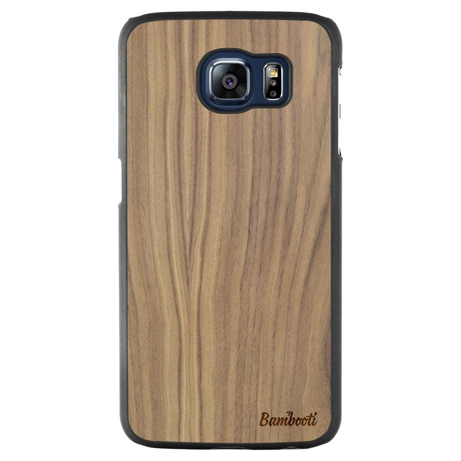 Galaxy S6 Slim Walnut Case