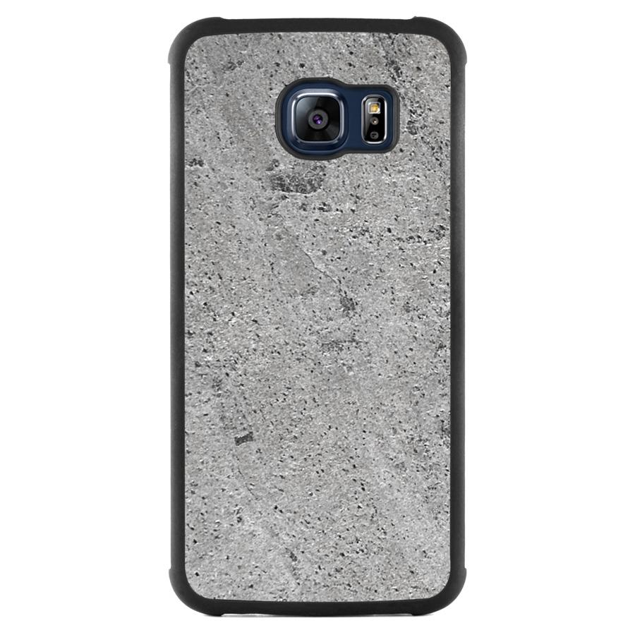 Galaxy S6 Edge Stone Slim Case Silver Stone