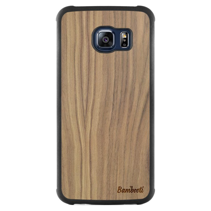 Galaxy S6 EDGE Slim Walnut Case