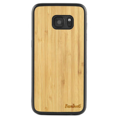 Galaxy S7 Wood Protective Case Bamboo Regular