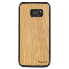 Galaxy S7 Wood Protective Case Cherry Regular