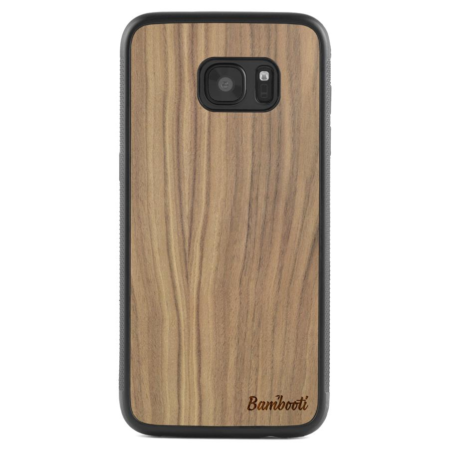 Galaxy S7 Protective Walnut Case