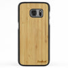 Galaxy S7 Wood Slim Case Bamboo Regular