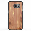 Galaxy S7 Wood Slim Case Cedar Regular