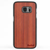 Galaxy S7 Wood Slim Case Padauk Regular
