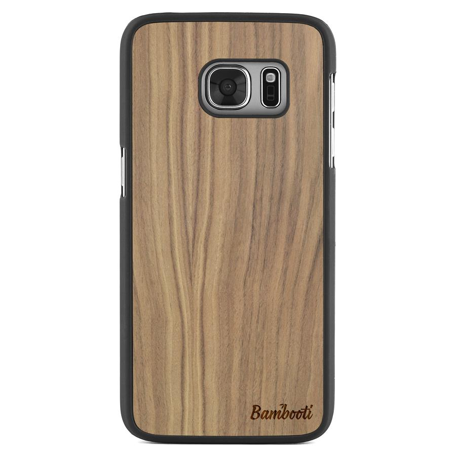 Galaxy S7 Slim Walnut Case