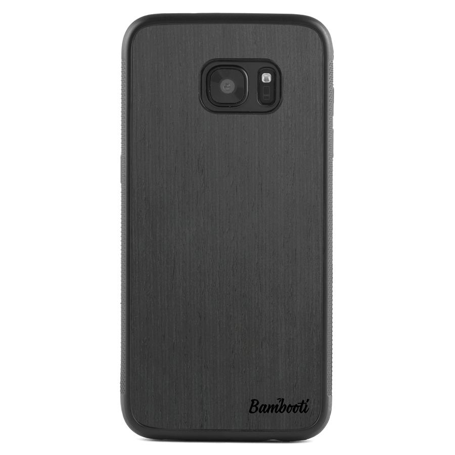 Galaxy S7 EDGE Protective Black Ash Case
