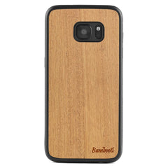 Galaxy S6 Wood Protective Case Mahogany Regular
