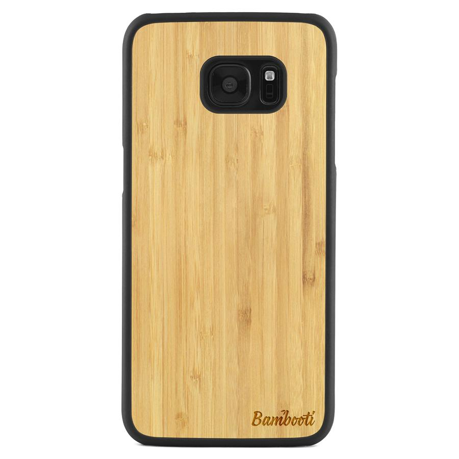 Galaxy S7 Edge Wood Slim Case Bamboo Regular
