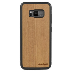 Galaxy S8 Wood Protective Case Mahogany Regular