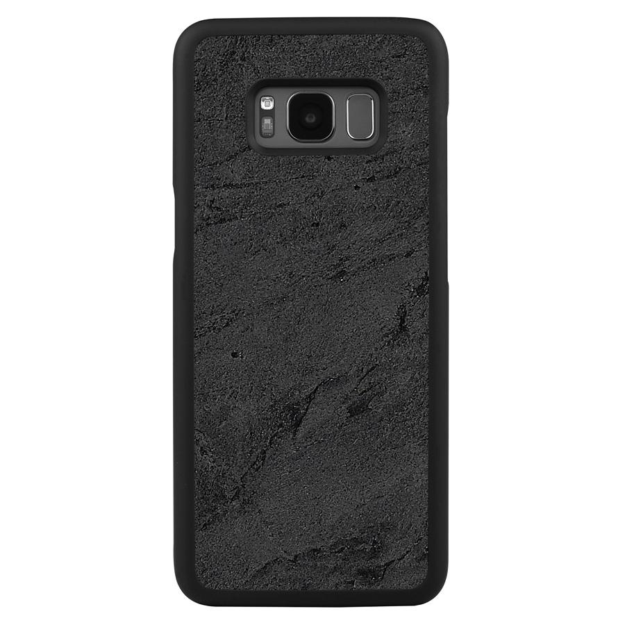 Galaxy S8 Plus Stone Slim Case Black Stone