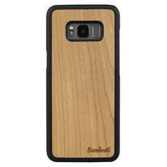 Galaxy S8 Wood Slim Case Cherry Regular