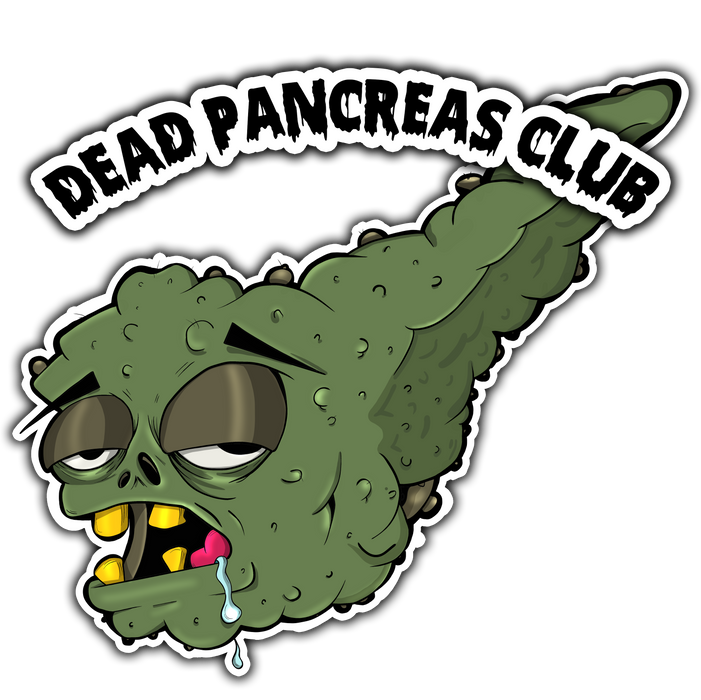 Dead Pancreas Club: Short-Sleeve Unisex T-Shirt