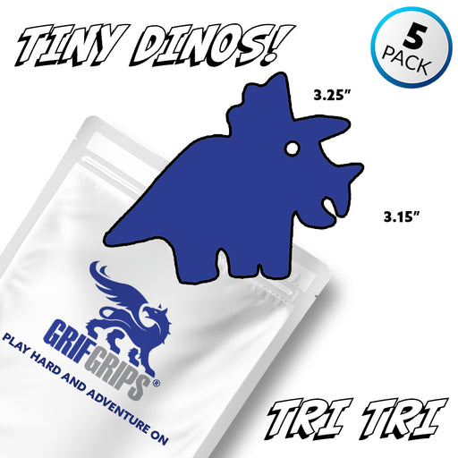 Tri Tri Triceratops - Tiny Dino Grip - GrifGrips