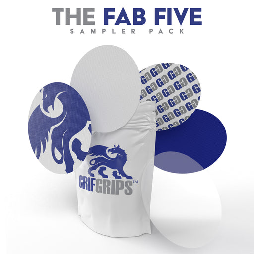The GrifGrips Fab Five Sampler: Ovals - 5 Count - GrifGrips