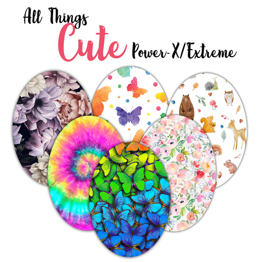 Power-X + Extreme: All Things Cute Ovals Combo
