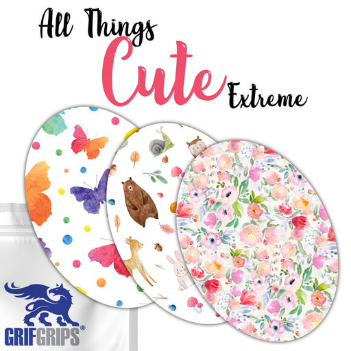 Extreme: All Things Cute Ovals Combo 30 Pack - GrifGrips