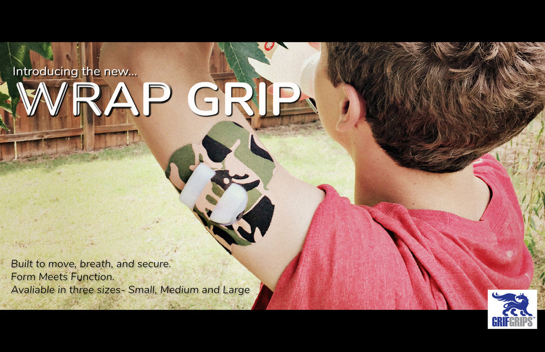 GrifGrips Wrap Grip: Original Formula (Pack of 10)