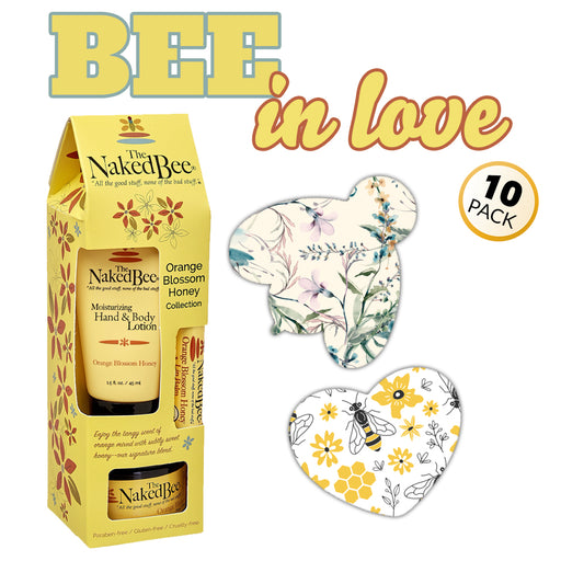 GrifGrips Bee In Love Combo: Extreme - 10 Pack Grips Plus Honey Gift Collection