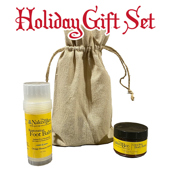 Body Butter & Foot Balm Gift Set - GrifGrips