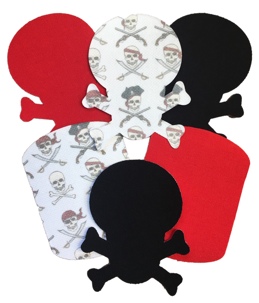 GrifGrips Buried Treasure Combo: Extreme Formula - Sports Grip and Skull Shapes (12 Pack)