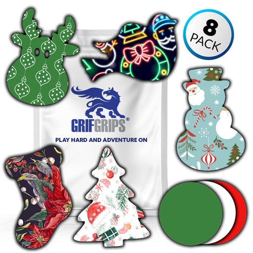 Power-X + Original: Christmas Combo Pack (8 pack) - GrifGrips