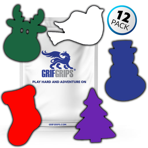Christmas Cookies - Large Grip Combo (Set of 12) - GrifGrips