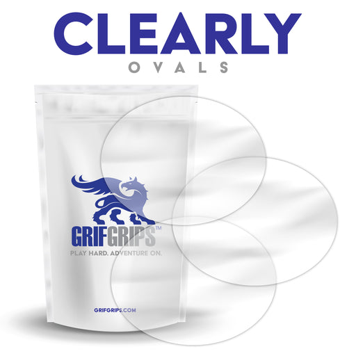 Clearly - Ovals - 25 Pack - GrifGrips