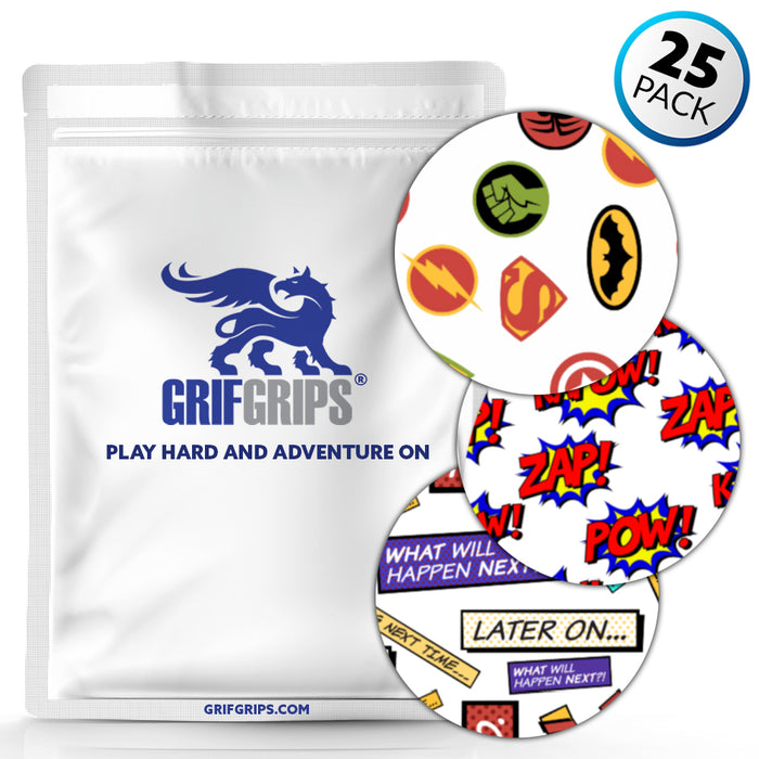 Spot Extreme: Theme Packs of 25 Grips - GrifGrips