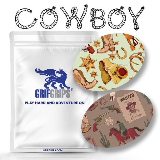Cowboy Combo: Choose Your Formula - Oval Shapes - 20 Pack - GrifGrips