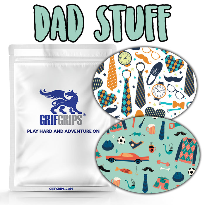 Dad Stuff Combo: Oval Shapes - Extreme Formula - GrifGrips