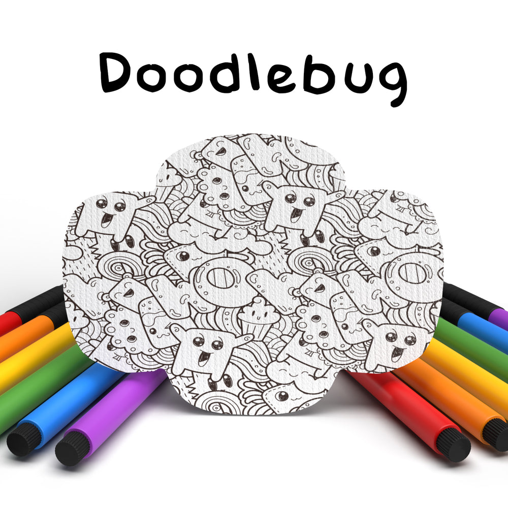 Doodlebug Combo: Color Your Own! Wrap Shapes - Select Your Formula - (15 Pack) - GrifGrips