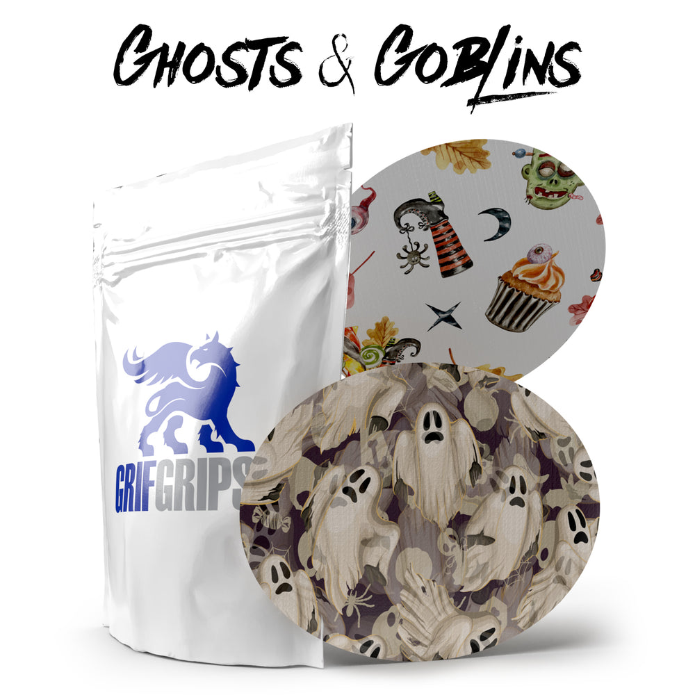Ghosts & Goblins - Ovals - Choose Your Formula - 10 Pack - GrifGrips