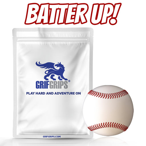 Batter Up! - Spot Circle Baseball Grip - Choose Your Formula - 25 Pack - GrifGrips