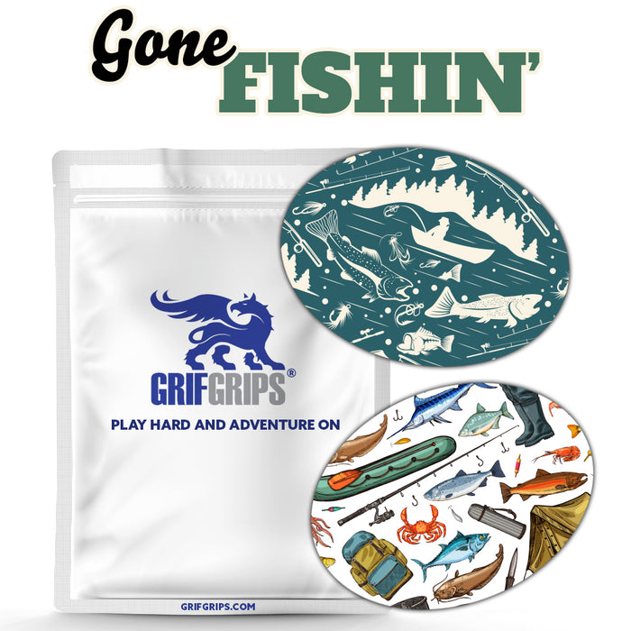 Gone Fishin' - Extreme + Power-X (30 Pack) - GrifGrips