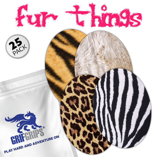 Extreme: Fur Things Ovals Combo (Pack of 25)