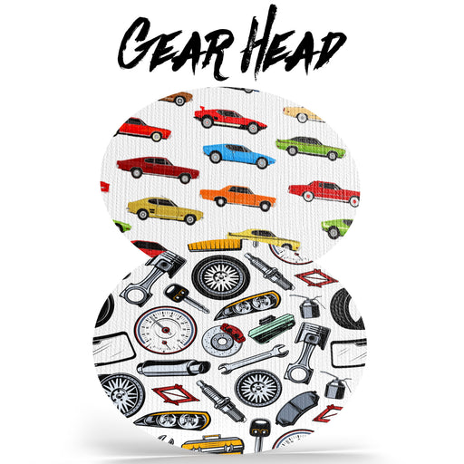Gear Head Combo - Ovals - Choose Your Formula - 20 Pack - GrifGrips