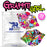 Graffiti Girl Combo - Power-X Formula - Lips Shape (15 Pack) - GrifGrips