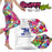 Yoga Grips: Graffiti Girl Combo with Yoga Leggings