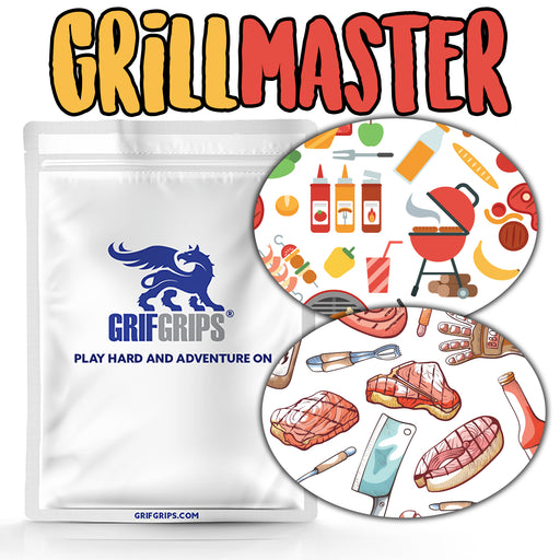 Grill Master Combo: Oval Shapes - Extreme Formula - GrifGrips