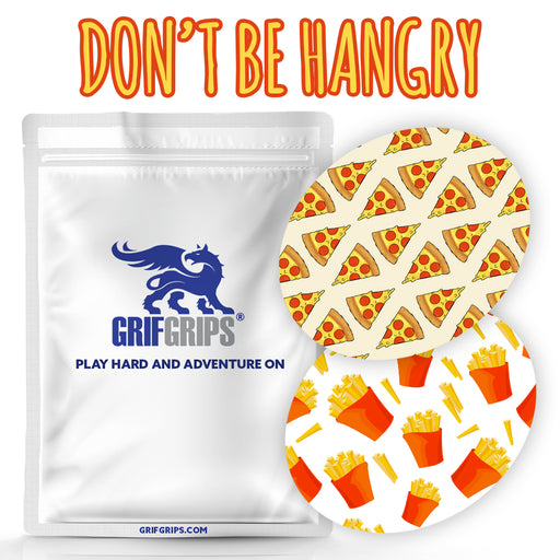 Don't Be Hangry Combo: Oval Shapes - Choose Your Formula - 20 Pack - GrifGrips