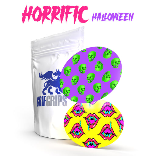 Horrific Halloween - Ovals - Choose your Formula - 10 Pack