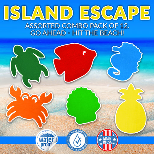 Island Escape Combo Grip Pack - 12 Pack - GrifGrips
