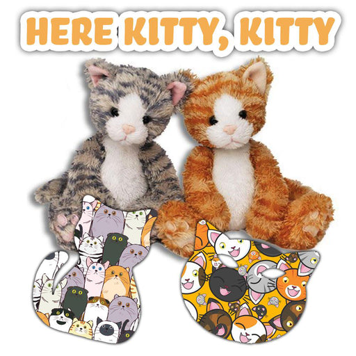 Combo:  Here Kitty, Kitty! Power-X Combo (12 Pack) and Cuddle Pal