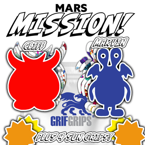 Space: Mars Mission Combo (12 Pack) - GrifGrips