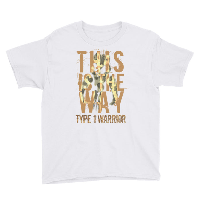 Type 1 Warrior - Youth Short Sleeve T-Shirt