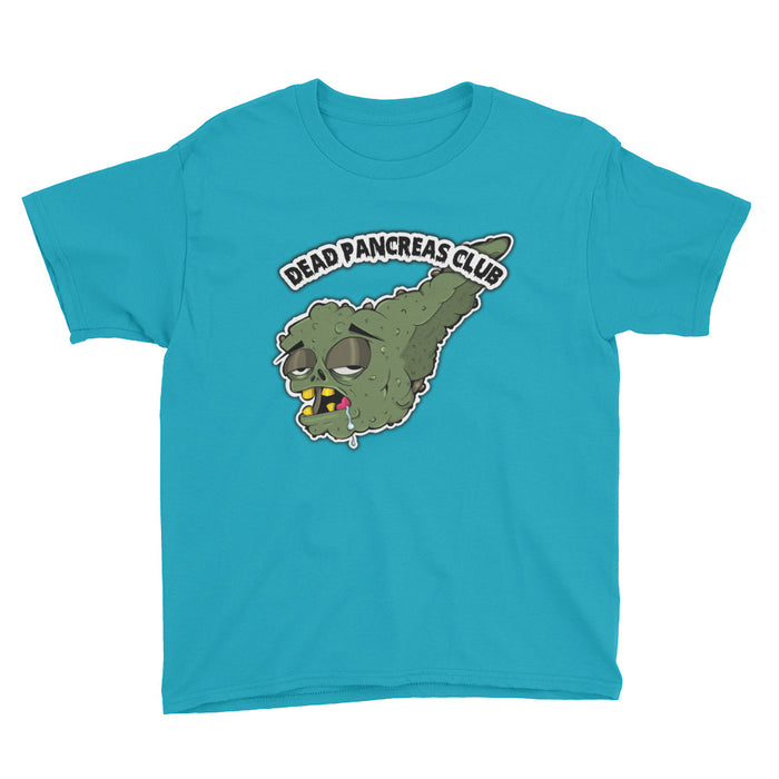 Dead Pancreas Club - Youth Short Sleeve T-Shirt