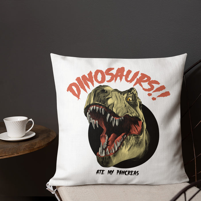 Dinosaurs!! Premium Pillow